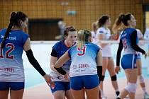 Volejbalistky Frýdku-Místku se chtějí porvat o postup do play off.