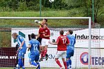 Třinečtí fotbalisté na úvod třetiligové soutěže zdolali na domácím trávníku Zábřeh 4:2.