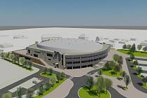 Vizualizace. V Třinci začali stavět vysněnou halu. Slavnostní zahájení stavby se uskutečnilo 10.10.2012 v deset hodin dopoledne.