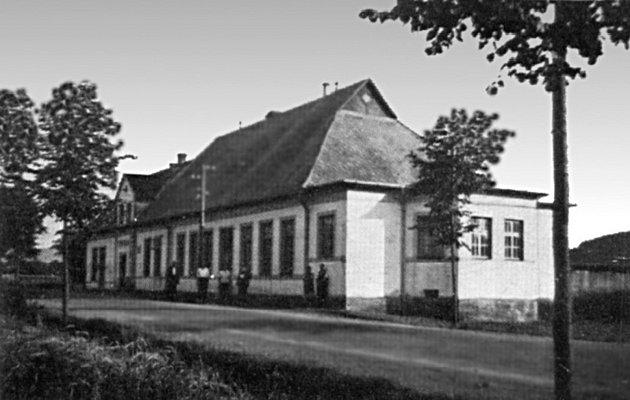 Radegastův šenk, hospoda, historické foto.
