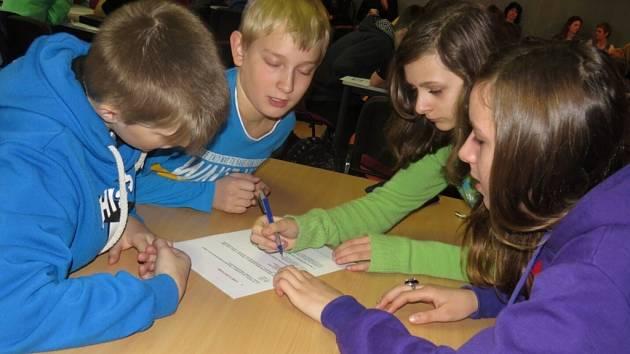 Můj werk, tak se nazývá soutěž, kterou pro děti základních škol připravily Třinecké železárny.