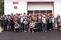 Sbor dobrovolných hasičů z Řeky.