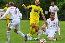 Fotbalisté Třince na domácím trávníku nestačili favorizovanému Varnsdorfu 1:4.