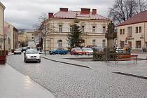 Náměstí ve Frýdlantu nad Ostravicí.