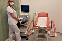 Gynekologicko-porodnické oddělení Nemocnice Třinec pořídilo pro své pacientky nové gynekologické a porodnické lůžko. Duben 2021.