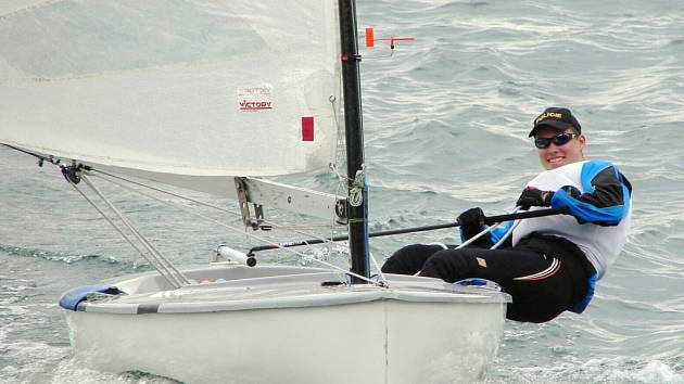 Patrik Ščerba přešel v letošní sezoně do jachtařské kategorie Finn. Na Mistrovství ČR získal Ščerba stříbrnou medaili.