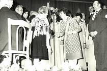 V dubnu roku 1981 se u příležitosti životního jubilea Boženy Peterkové (70 let) konal v Bašce koncert umělců Národního divadla Praha a Lašského smíšeného pěveckého sboru.