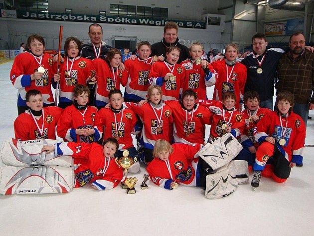Mladí hokejisté HC Frýdek-Místek byli v polském Jastrzebie nejlepší.