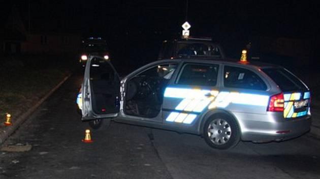Policisté zakročili proti agresivnímu řidiči.