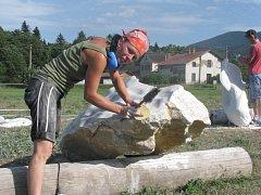 Beskydské výtvarné léto - Čeladná 2012.
