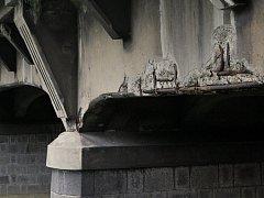 Most ve špatném stavu - Ilustrační foto.