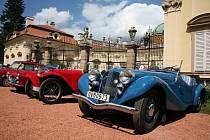 Spanilá jízda 25 unikátních historických vozidel skončí v neděli v Třinci. Ilustrační snímek.