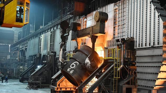 Konvektor K2. Na snímku jedno z pracovišť, kterého se týkaly investice do ekologie.