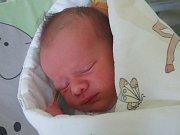 Dominik Makovský, Lučina, nar. 3. 4., 48 cm, 3,2 kg. Nemocnice ve Frýdku-Místku.