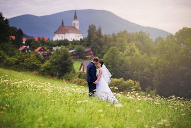 """Dagmar a Lukáš Kutty zFrýdku-Místku si řekli své """"ano"""" 17.9.2016."""