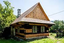 Dřevěnka č. e. 113 na Podoboří, 29. července 2020 v Hukvaldech na Frýdecko-Místecku.