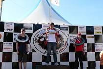 Mladý palkovický jezdec skončil v Písku na pěkném třetím místě.