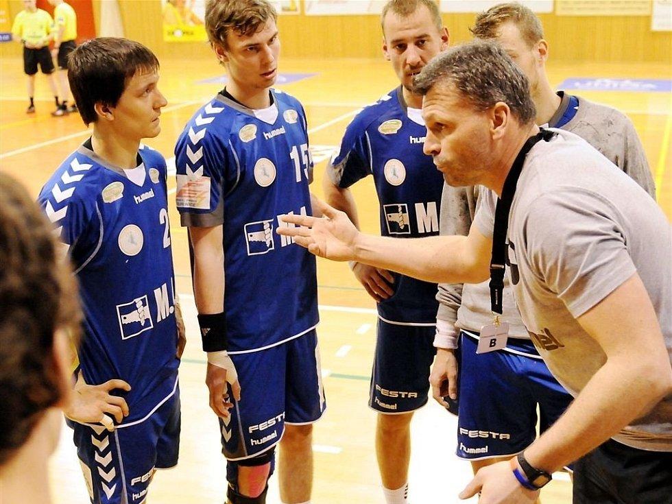 Extraligové házenkářské utkání SKP Frýdek-Místek - Talent Plzeň