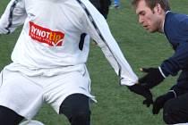 Fotbalisté Lískovce zachraňovali bod až v samém závěru utkání. Bruntál – Lískovec 3:3 (1:0)