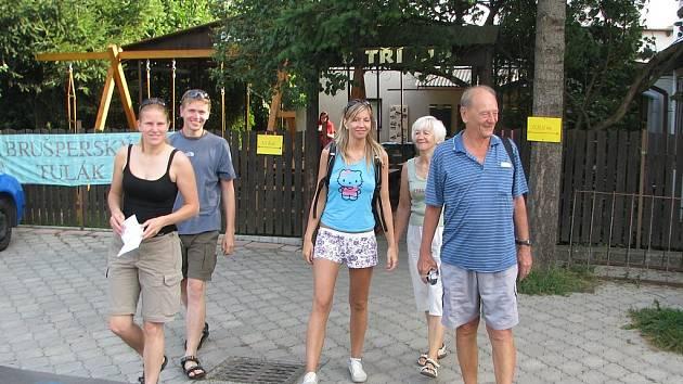 Turisté si vyšlápli na velmi populárního a už jedenáctého Brušperského tuláka.