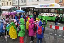 Dopravce představil nové autobusy s pohonem na stlačený zemní plyn.