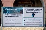 Frýdek-Místek v celostátní karanténě, 24. března 2020. Vláda ČR vyhlásila dne 15.3.2020 celostátní karanténu kvůli zamezení šíření novému koronavirové onemocnění (COVID-19).