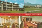 Motel Panorama v dřívějších dobách na pohlednici.