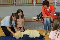 Školáci z Frýdku-Místku se učili poskytovat první pomoc.
