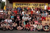 Společná fotografie Sweetsen fest komunity.