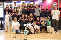Taekwondisté z Frýdku-Místku si domů z Czech Open přivezli 7 zlatých, 13 stříbrných a 15 bronzových medailí.