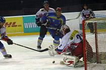 Hokejisté Nového Jičína porazili ve 34. kole na domácím ledě Břeclav.
