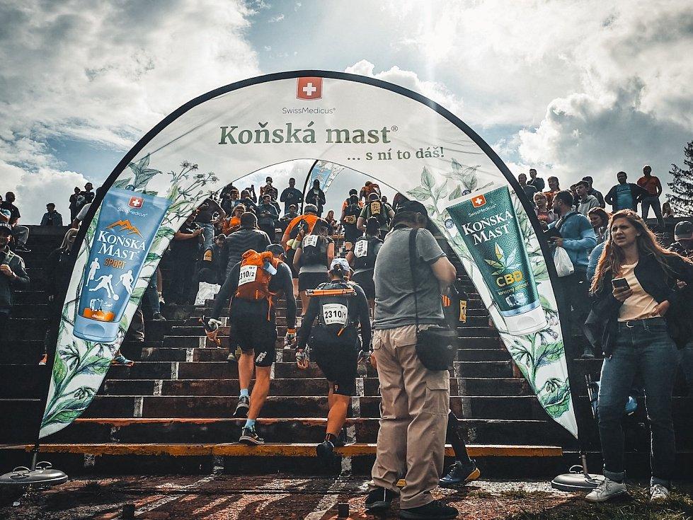 Start Beskydské sedmičky v pátek 27. srpna 2021.
