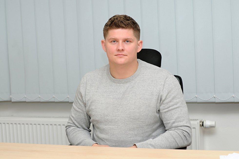 Starosta Vojkovic Petr Tesarčík.