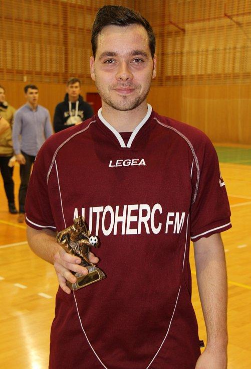 Nejlepším útočníkem byl Tomáš Boráň z Auto Herc.
