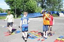 Třetí ročník soutěže O putovní pohár pro nejlepší družstvo v dopravní výchově se konal ve čtvrtek 13. června u hokejové haly ve Frýdku-Místku.