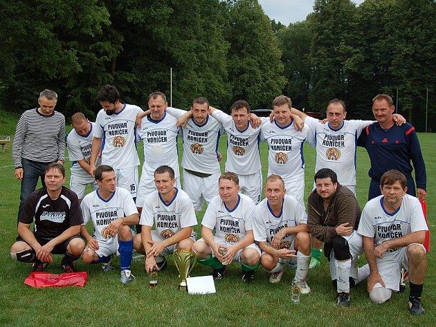 Vítězem Memoriálu Ivo Petra se stali fotbalisté z Vojkovic.