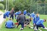 Třetiligoví fotbalisté Frýdku-Místku zahájili v pondělí 4. července přípravu na novou sezonu.