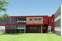 Vizualizace: Přístavba rozšíří kapacitu frýdlantské školky o dvě nové třídy po 25 dětech.