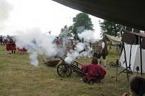 Historická bitva z období třicetileté války se konala na poli před penzionem Hrad Dona Quijotte ve Frýdku.