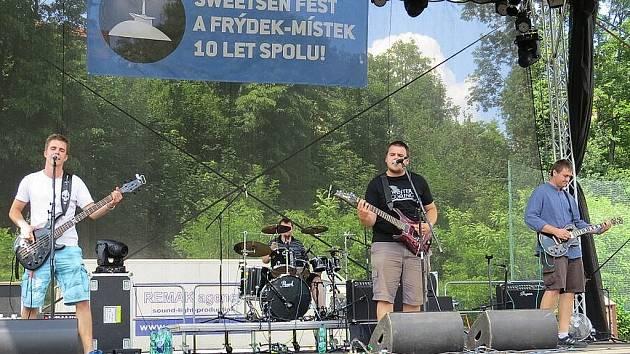 Davy lidí si nenechaly ujít desátý ročník Sweetsen festivalu, který se konal od 27. do 29. června ve Frýdku-Místku.