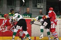 BK Mladá Boleslav - HC Oceláři Třinec 2:3 sn