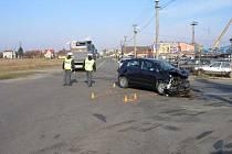 Snímek z nehody
