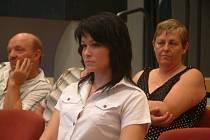 Současná pracovnice informačního centra v Hukvaldech a dcera odvolaného radního Magdaléna Tkáčová (na snímku) na zastupitelstvu ostře urážela svou předchůdkyni.