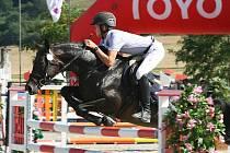 Jan Zwinger na koni Sisi 5 z Mustangu Lučina zvítězili i v soutěži S**.