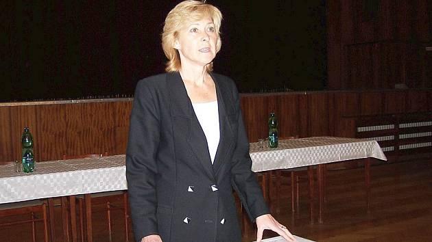 Starostka Frýdlantu nad Ostravicí Helena Pešatová.