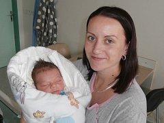 Dominik Florczyk s maminkou, Frýdek-Místek, nar. 12.10., 51 cm, 4, 30 kg. Nemocnice ve Frýdku-Místku.