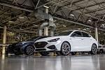 Automobilka Hyundai v Nošovicích představila kompletní řadu nového modelu Hyundai i30, 23. června 2020 v Nošovicích. Na snímku Hyundai i30 Fastback N Line.