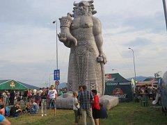 Radegast den v Nošovicích pobavil opět tisíce návštěvníků.