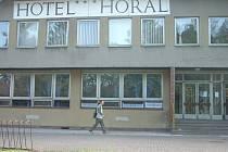 Hotel Horal v Jablunkově.