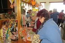 Vesnický velikonoční jarmark se v sobotu konal v Nošovicích.